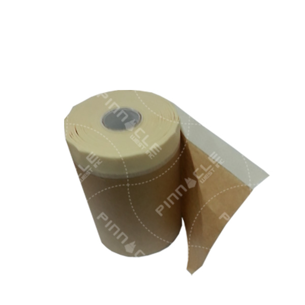 Pre-Taped Masking Paper, 7