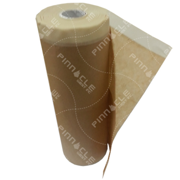 Pre-Taped Masking Paper, 12