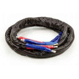 Whip Hose, Heated, 2000psi, 1/4 ID, 20 ft.