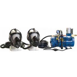 North 2 Man Fresh Air System, Full Mask