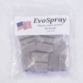 EvoSpray Gun Filter, 60 Mesh, Pack of 10