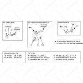 Graco Fusion AP Tips Exploded Diagram