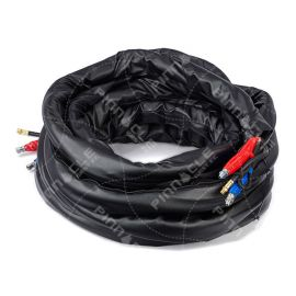 "Heated Hose, 3/8"", 3500psi, Xtreme-Wrap SG, CAN, RTD, 50 ft"