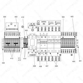 Reactor A-Series Circuit Breaker Modules Exploded Diagram