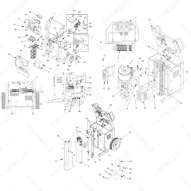 Reactor A-Series Main Unit Exploded Diagram