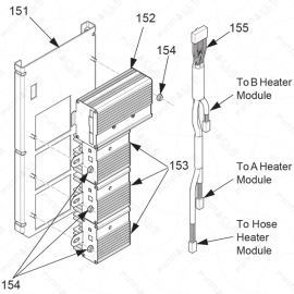 Reactor A-Series Temperature Control Exploded Diagram