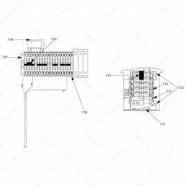 Reactor A-20 Circuit Breaker Modules Exploded Diagram