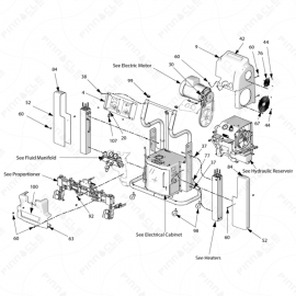 Reactor H-Series Main Unit Exploded Diagram