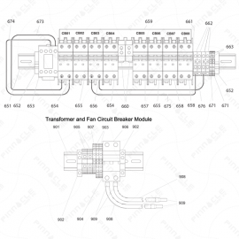 Reactor I-Series Breaker Module Exploded Diagram