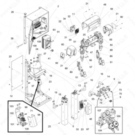 Reactor 2 E-Series Main Unit Exploded Diagram