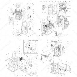 Reactor 2 H-40 Main Unit Exploded Diagram