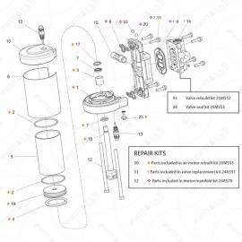 Graco T3 Air Motor Exploded Diagram