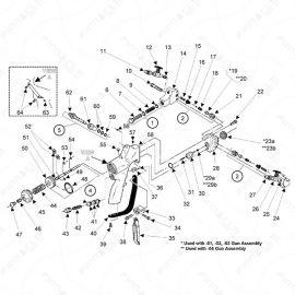 Graco Probler P1 Main Unit Exploded Diagram