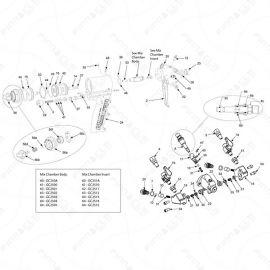 Graco Probler P2 Main Unit Exploded Diagram