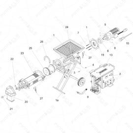 ToughTek CM-40 Main Unit Exploded Diagram
