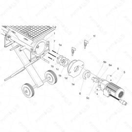 ToughTek CM-40 Motor Assembly Parts Exploded Diagram