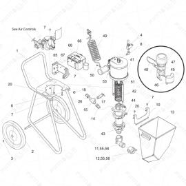 ToughTek M680a Main Unit Exploded Diagram