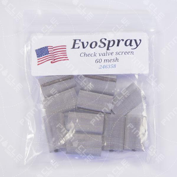 EvoSpray Gun Filter, 60 Mesh, Pack of 10