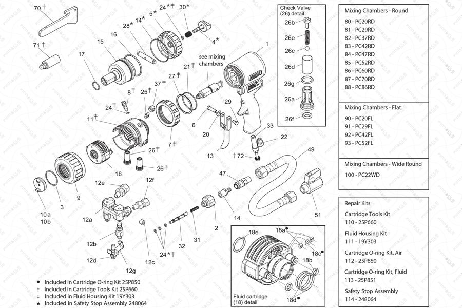 Fusion PC Individual Parts