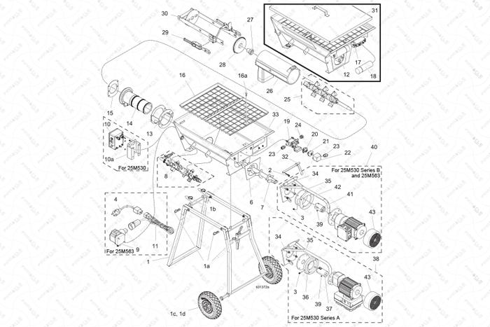 ToughTek CM20 Individual Parts