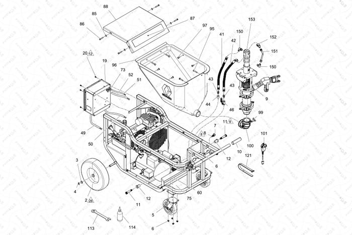 ToughTek F680e Individual Parts