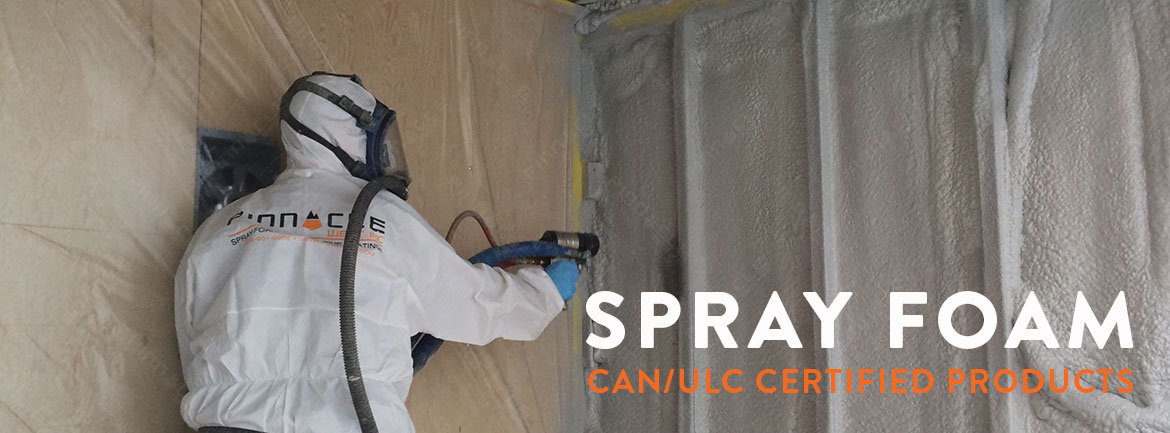 CCMC Approved Spray Foam Insulation