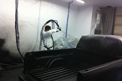Worker Protection In Bedliner Applications